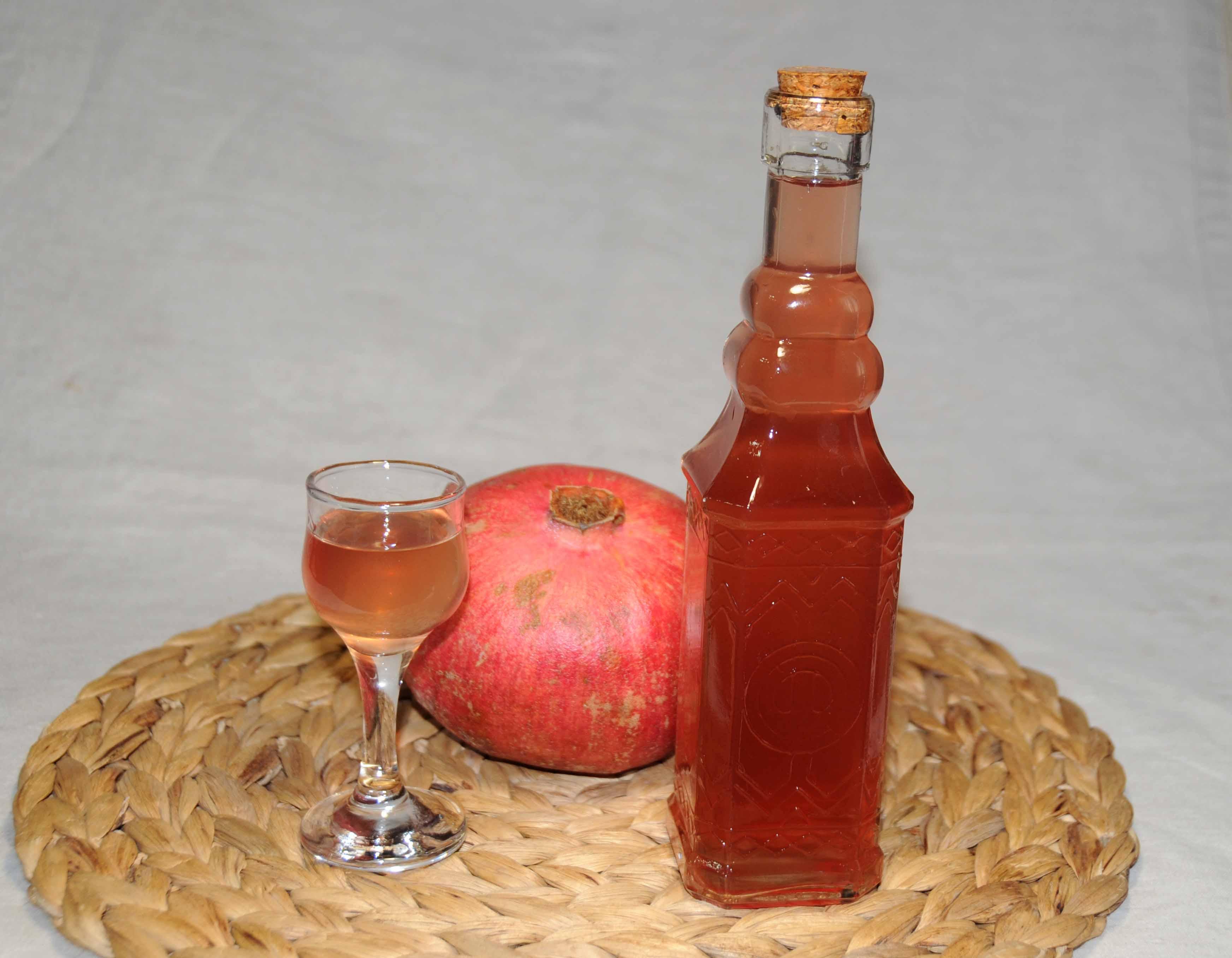 Liqueur Pomegranate Photo By Thanasis Bounas