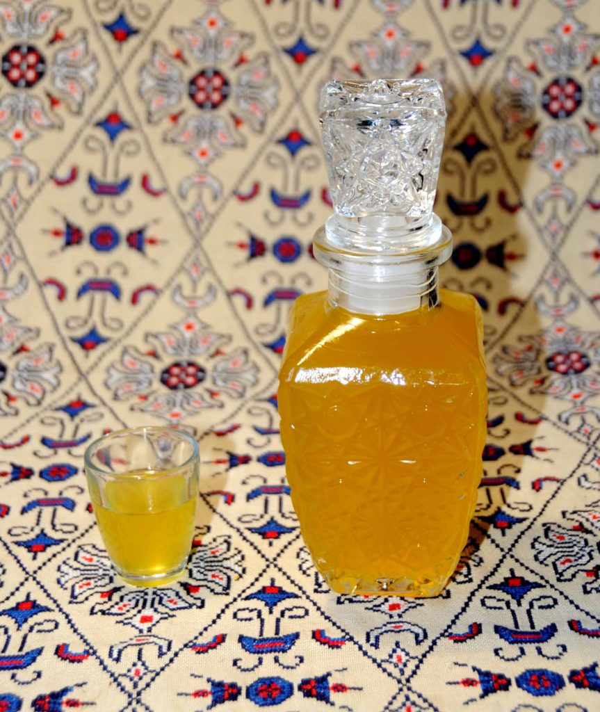 Homemade Liqueurs Liqueur Tangerine Photo By Thanasis Bounas