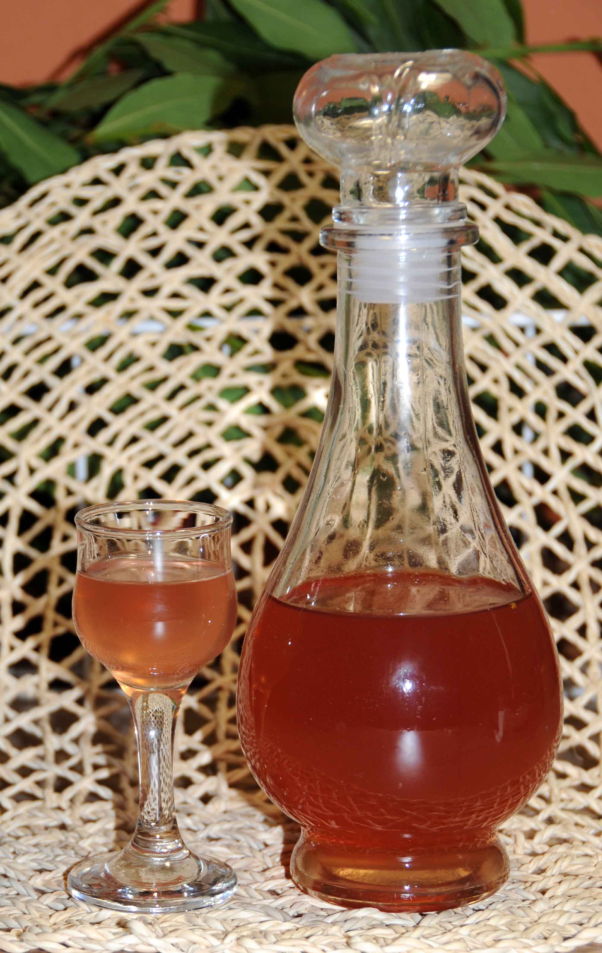 Peach Liqueur - Photo by Thanasis Bounas