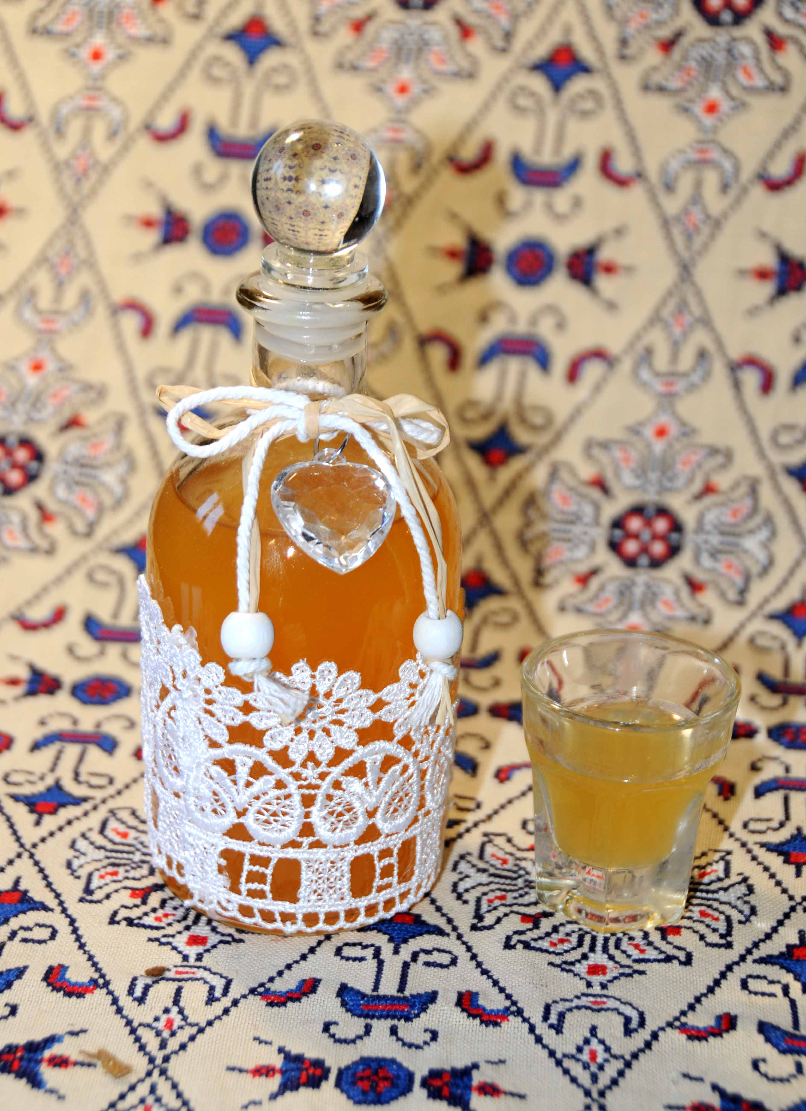 Red Orange Liqueur Photo by Thanasis Bounas