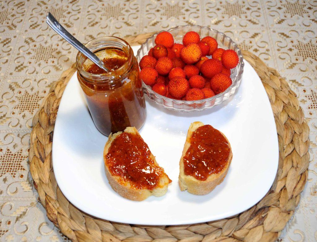 Homemade Preserves Arbutus Unedo Jam - Photo By Thanasis Bounas