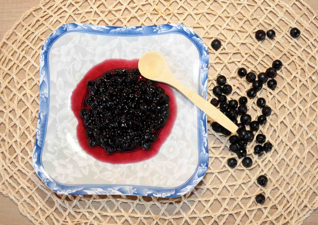 Aronia Berry Preserve - Photo By Thanasis Bounas