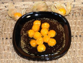 Cape Gooseberry (Physalis) Preserve - Photo By Thanasis Bounas