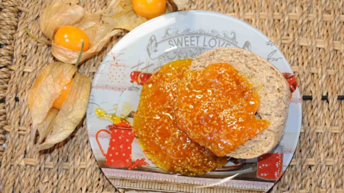 Cape gooseberry (physalis) Jam - Photo By Thanasis Bounas