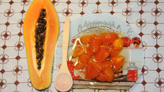 Papaya Preserve - Photo By Thanasis Bounas