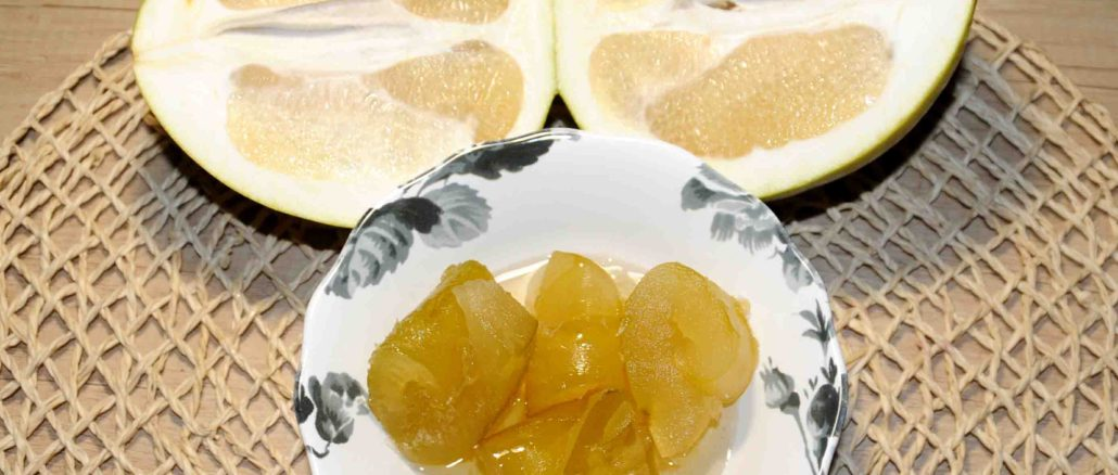 Pomelo Peels Preserve - Photo By Thanasis Bounas