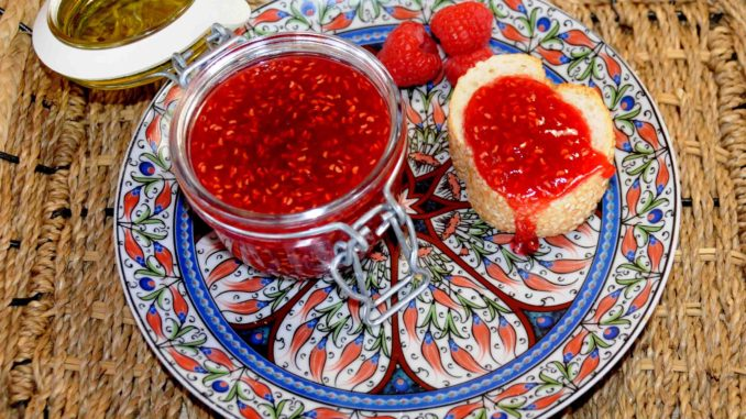 Red Raspberries Jam - Photo By Thanasis Bounas