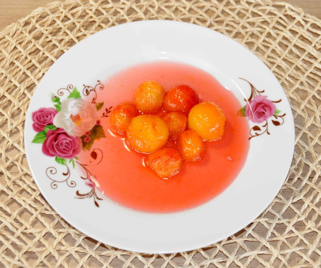 Red cherry plum Preserve - Photo By Thanasis Bounas