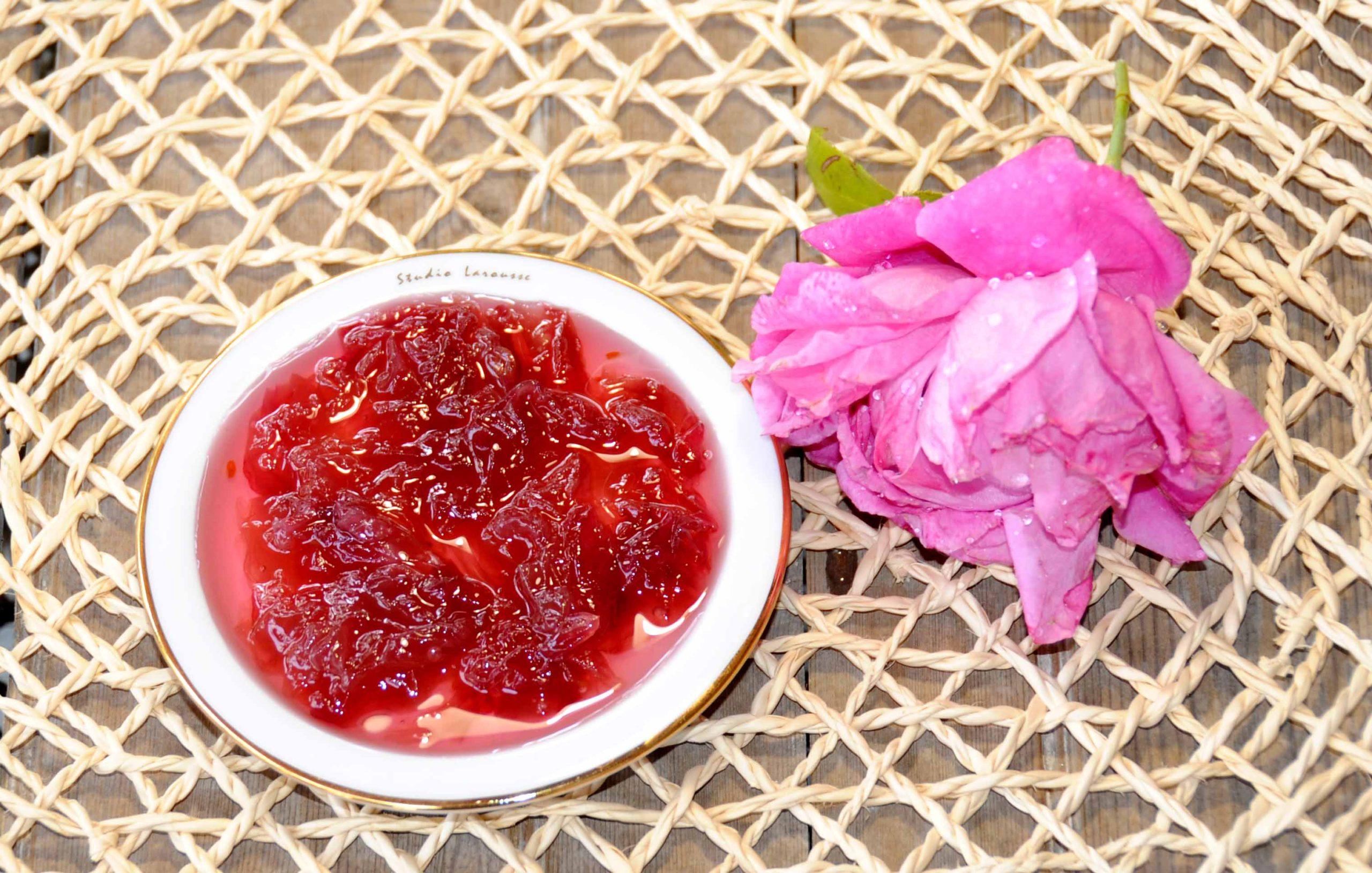 Rose Petal Jam - Delicious Path