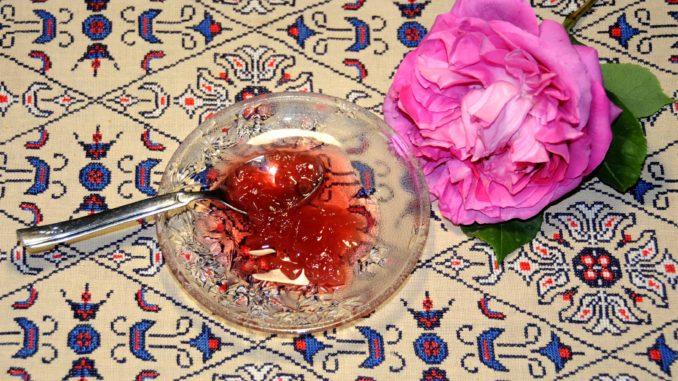 Rose petal Preserve - Photo By Thanasis Bounas