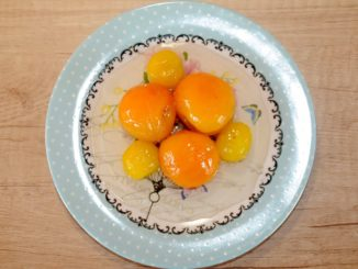 Yellow Cherry Plum and Apricot Preserve - Photo By Thanasis Bounas